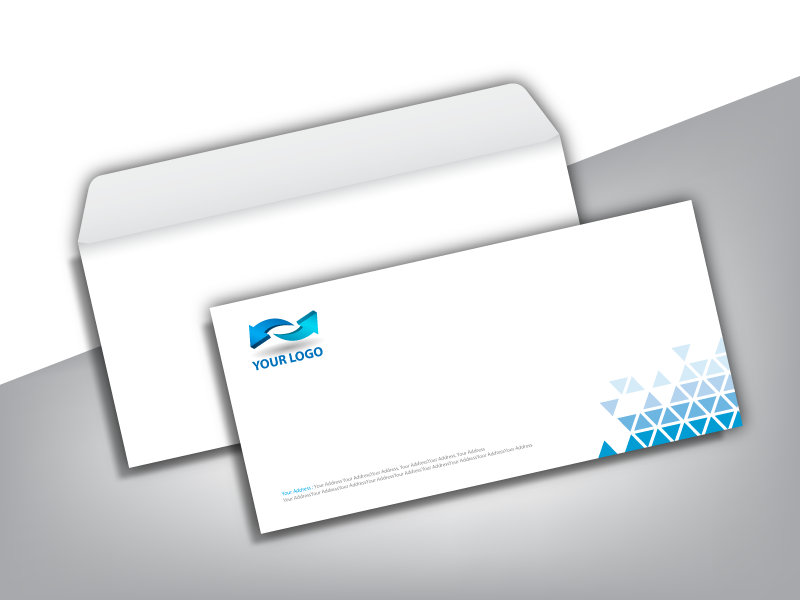 business envelope printing service company print shop in fort