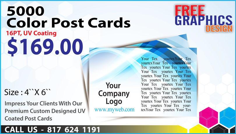 5000 Post card promo January 2017 image